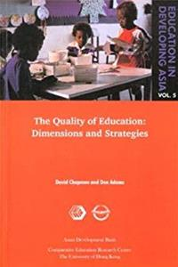 eBook The Quality of Education: Dimensions and Strategies (Education in Developing Asia, Volume 5) ePub
