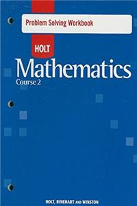 eBook Problem Solving Workbook - Holt Mathematics Course 2 ePub