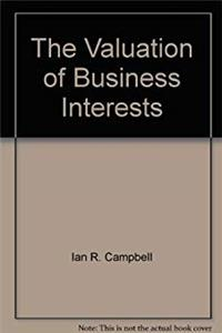 eBook The Valuation of Business Interests ePub