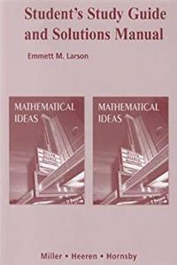 eBook Student Study Guide and Solutions Manual for Mathematical Ideas ePub