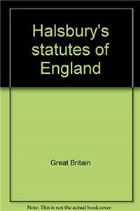 eBook Halsbury's statutes of England ePub