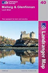 eBook Mallaig and Glenfinnan, Loch Shiel (Landranger Maps) ePub