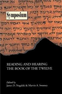 eBook Reading and Hearing the Book of the Twelve (Classroom Resource Materials) ePub