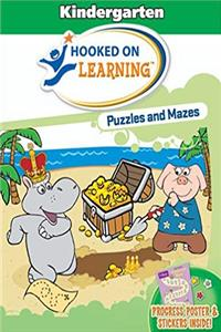 eBook Hooked on Learning Puzzles And Mazes: Kindergarten ePub