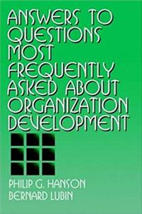 eBook Answers to Questions Most Frequently Asked about Organization Development ePub