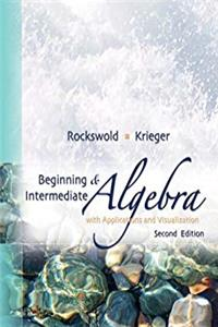 eBook Beginning and Intermediate Algebra with Applications and Visualization ePub