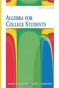 eBook Algebra for College Students- 8th Edition (with Interactive Video Skillbuilder CD-ROM) ePub