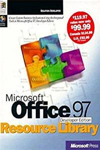 eBook Microsoft Office 97, Developer Ed., Resource Library, with CD ePub
