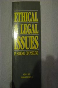 eBook Ethical and Legal Issues in School Counseling ePub