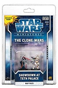 eBook The Clone Wars: Showdown at Teth Palace: A Star Wars Miniatures Map Pack (Star Wars Miniatures Product) ePub