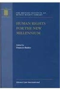 eBook Human Rights for the New Millennium (British Institute of Human Rights Library) ePub