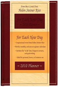 eBook Planner-2010-For Each New Day ePub