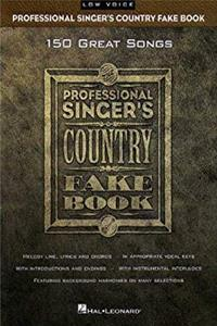 eBook Professional Singer's Country Fake Book: Low Voice (Fake Books) ePub
