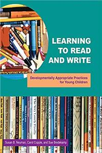 eBook Learning To Read And Write : Developmentally Appropriate Practices For Young Children ePub